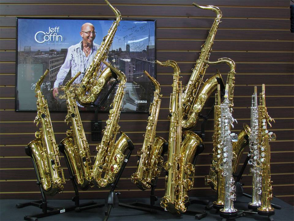 Saxquest is an authorized Yamaha dealer