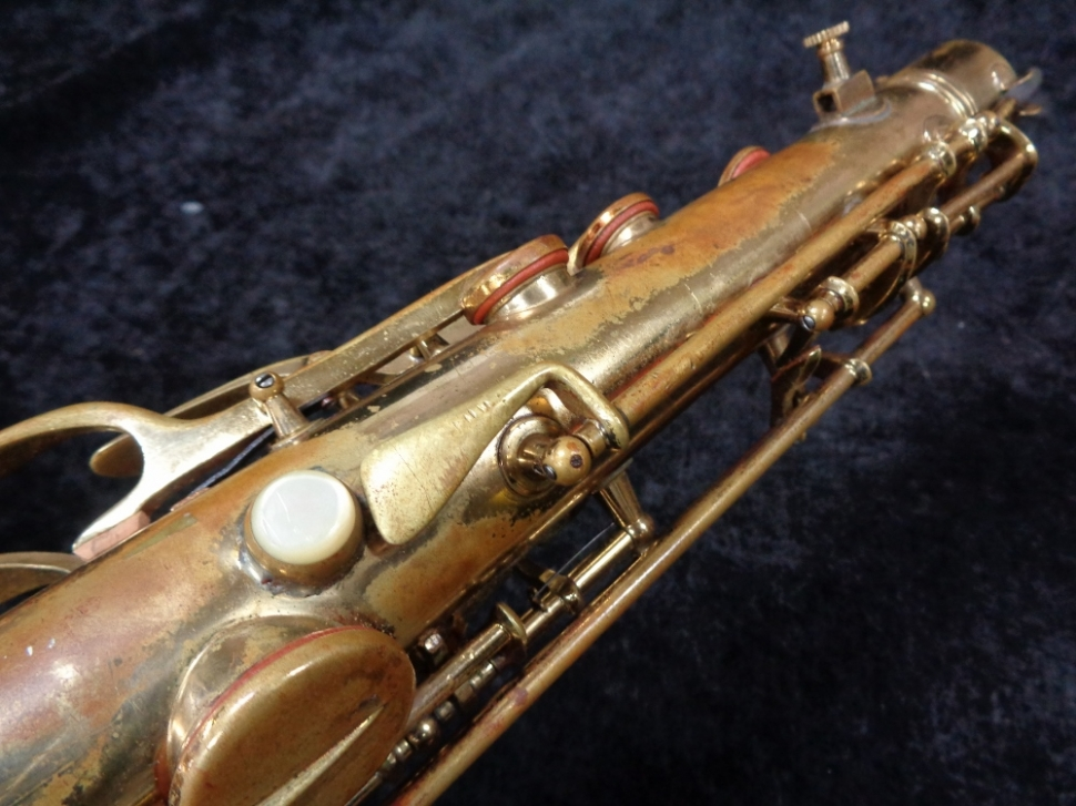 A Players Vintage CG Conn 10M Naked Lady Tenor