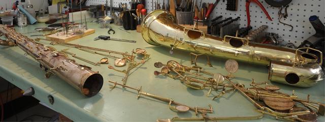 Saxophone Repair Shop