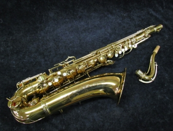 Vintage C.G. Conn 10M Naked Lady Tenor Sax, Serial #290000 - Big Sound!