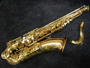 EXCEPTIONAL!! Original Lacquer Selmer Paris Mark VI Tenor Sax, Serial #66410 – High F#