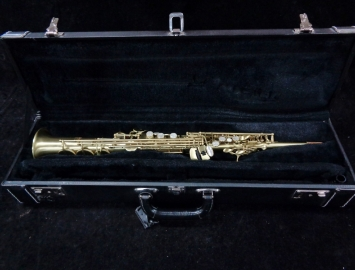 Barely Played! Unison U18 Professional Class Soprano Sax, Serial #609388