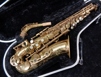 Selmer Paris Mark VI Alto Sax in Original Lacquer - Serial # 201470