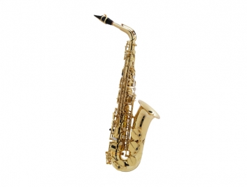 New Selmer Paris Seles AXOS Professional Alto Sax in Gold Lacquer
