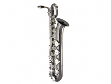 New Eastman 640 Series Baritone Sax with Black Nickel Body and Silver Keys