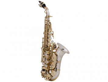 New Yanagisawa SC9937 Professional Curved Soprano Sax in Sterling Silver