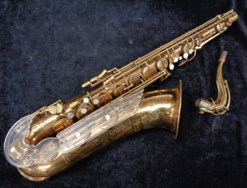 Wow! Rare Vintage Keilwerth Tone King Tenor Sax in Original Lacquer Serial #24250