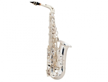 New! Selmer USA AS42 Professional Alto Sax in Silver Plate