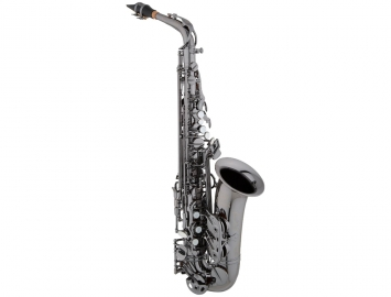 New Eastman 640 Series Alto Saxophone - Black Nickel Body and Keys