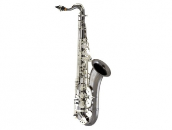 New Eastman 640 Series Tenor Saxophone - Black Nickel Body with Silver Keys