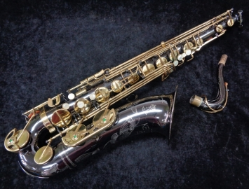 Great Players! Keilwerth Black Nickel SX90R Tenor Sax - Rolled Tone Holes, Serial #118889