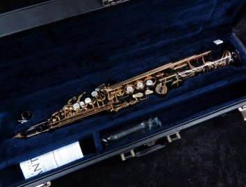 Pristine! Yamaha YSS – 82ZR Soprano Sax – One Piece Curved Neck Serial #002055