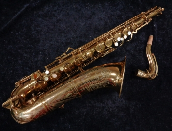 Vintage Buescher Big B Tenor Sax in Original Lacquer, Serial # 306157