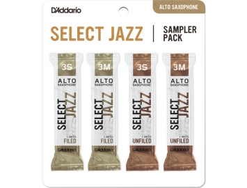D'Addario Select Jazz Sampler Packs for Alto Sax