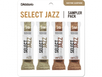 D'Addario Select Jazz Sampler Packs for Bari Sax