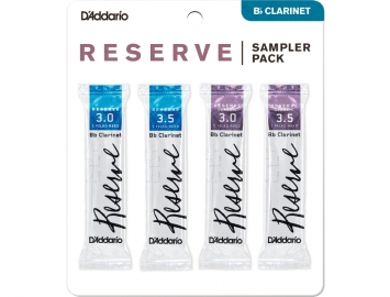 D'Addario Reserve Sampler Packs for Bb Clarinet