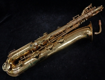 Vintage Selmer Super Balanced Action Bari Sax with Low A - Serial # 50484