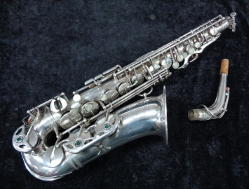 ORIGINAL Silver Plated Selmer Balanced Action Alto Sax - Serial # 29537