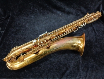 Cleveland Vintage Original Lacquer King Super 20 Bari Sax - Serial # 369175 - REDUCED PRICE