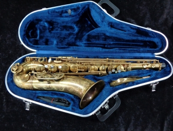 Very Nice P Mauriat Unlacquered System 76 Tenor Sax - Serial # PM0220517