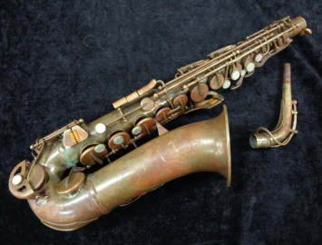 Old Conn Shooting Star Alto Sax – Fixer Upper