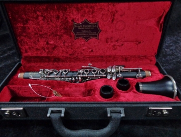 WOW! Outstanding Patricola Special CL1 S Professional Eb Clarinet, Serial #4722