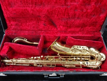 Vintage Vito Leblanc Gold Lacquer Tenor Saxophone Made by Leblanc/Beaugnier  Serial #19047