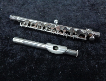 C.G. Conn Ltd 40P Student Metal Piccolo, Serial #294324