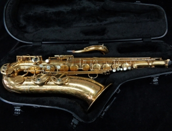 WOW! Vintage Selmer Paris Balanced Action Tenor Sax in Gold Plate! Serial #24652