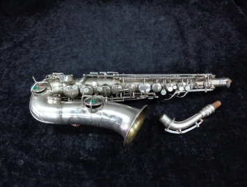 Original Silver Plated Conn Chu Berry Alto Sax at a LOW PRICE - Serial # 199723