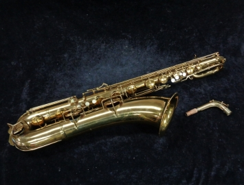 Late Vintage Conn 'Transitional' Naked Lady Bari Sax - Serial # 258999