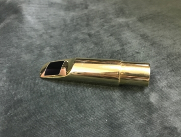 Gold Plated Lebayle # 7 Alto Saxophone Mouthpiece