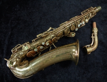Bargain Bin Special! Vintage C.G. Conn 6M Naked Lady Alto Sax, Serial # 316722