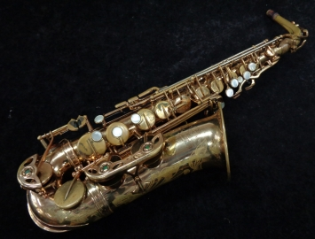 Vintage Original Lacquer Selmer Paris Mark VI Alto Sax, Serial #160165