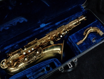 Vintage Buffet Crampon Original Lacquer Super Dynaction Tenor Sax, Serial #15883