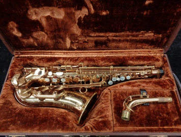 Vintage H. Couf Superba I Alto Saxophone Made by Julius Keilwerth, Serial #81991