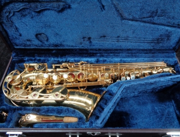 Mint Condition! Yamaha YAS 62 Alto Saxophone in Gold Lacquer, Serial #059586