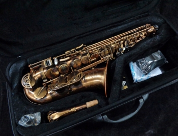 WOW! Gorgeous Chateau Custom Limited Edition Alto Sax - Serial # A150049