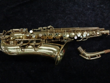 Vintage Pennsylvania Special Alto Sax - Made by Keilwerth w/ Pearl Inlay - Serial # 260489