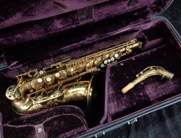 Original Lacquer Selmer Paris Mark VI Alto Saxophone - Serial # 176584