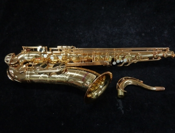 Mint Condition Yamaha YTS-62 First Series Purple Logo Tenor Sax, Serial #004334