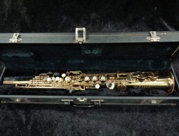 Vintage Selmer Paris Original Lacquer Mark VI Soprano Sax – High F#, Serial #299589