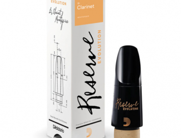 New! D'Addario Reserve Evolution Mouthpiece for Bb Clarinet