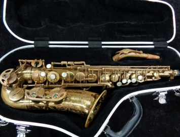 1970 Vintage Selmer Paris Mark VI Alto Sax in New Pads - Serial # 176319
