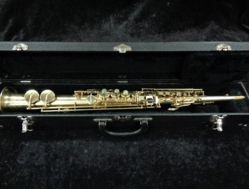 GOLD PLATED Buescher True Tone Soprano Sax - Serial # 230196