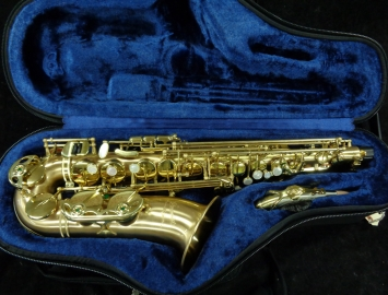 Store Demo P Mauriat Le Bravo 200 Alto Sax in Pristine Condition, Serial # PMPM0802517