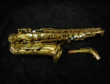 Vintage Original Lacquer Selmer Paris Mark VI Alto Sax, Serial #228742