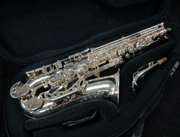 Mint Condition! Lightly Played Buffet Senzo in Silver Plate, Serial #41633