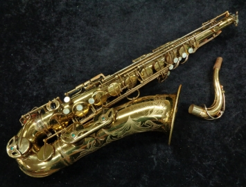 Wow! Vintage Selmer Paris Mark VI Tenor Sax #86814 with Gold Plated Neck