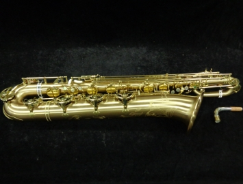 Excellent! Lightly Played P. Mauriat Le Bravo 200 Low A Baritone Sax, PM0850317